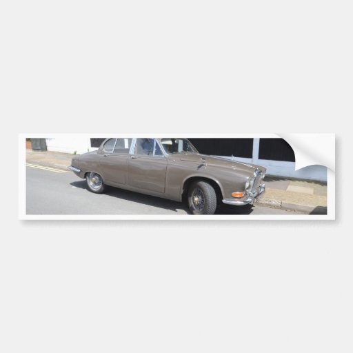 1960s Daimler Sovereign Bumper Sticker