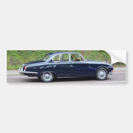 1960s Jaguar S Type Bumper Stickers