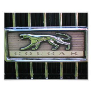 1960's Mercury Cougar Grill Emblem Photo Print