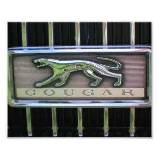 1960's Mercury Cougar Grill Emblem Photograph