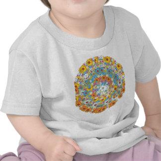 1960s vintage floral flower pattern tshirt