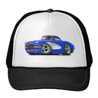 1961 Corvette Blue Car Cap