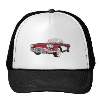 1961 Corvette C1: Candy Apple Finish: Cap