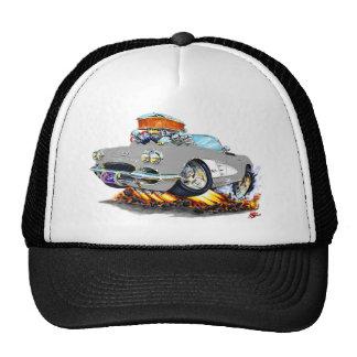 1961 Corvette Grey Convertible Trucker Hats