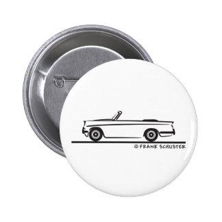 1961 Triumph Herald Convertible 6 Cm Round Badge