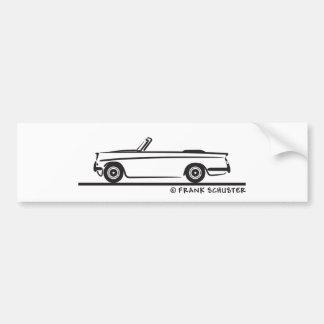 1961 Triumph Herald Convertible Bumper Sticker