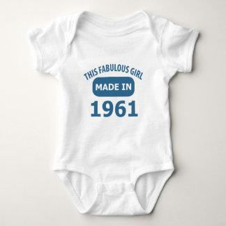 1961 year fabulous designs t-shirt