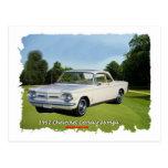 1962_Corvair_Monza Postcard