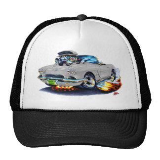 1962 Corvette Grey Convertible Trucker Hat