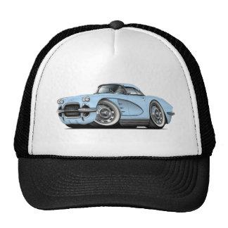 1962 Corvette Lt Blue Car Cap