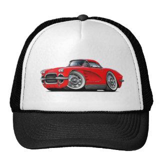 1962 Corvette Red Car Cap