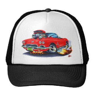 1962 Corvette Red Convertible Cap