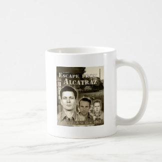 1962 Escape From Alcatraz - Morris & Anglins Basic White Mug