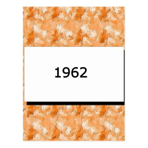 1962 POST CARD