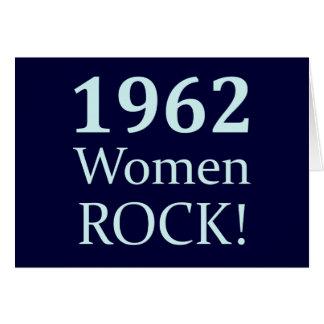 1962 Women Rock, 50th Birthday Card