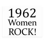 1962 Women Rock Postcard