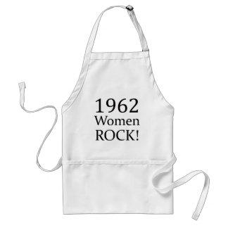 1962 Women Rock Standard Apron