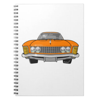 1963 Buick Riviera Spiral Notebooks