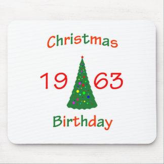 1963 Christmas Birthday Mousepads