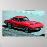 1963 Corvette Poster