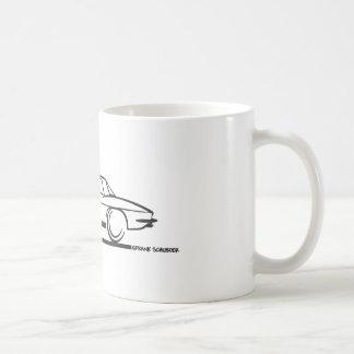 1963 Corvette Stingray Hardtop Basic White Mug