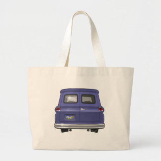 1963 GMC Chevy Panel Truck Large Tote Bag