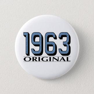 1963 Original 6 Cm Round Badge