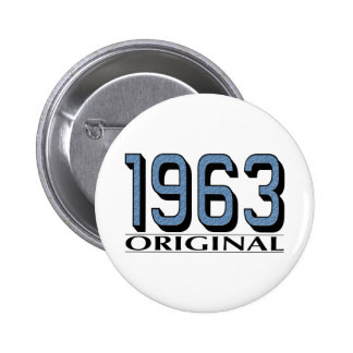 1963 Original 6 Cm Round Badge