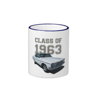 1963 Plymouth Coupe coffee mug. Ringer Mug