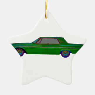 1963 Plymouth Fury Christmas Ornament