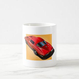 1963 Split Window Red Yellow Box Coffee Mug