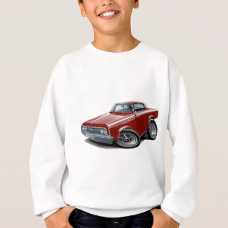 1964-65 Cutlass Maroon Car Sweatshirt