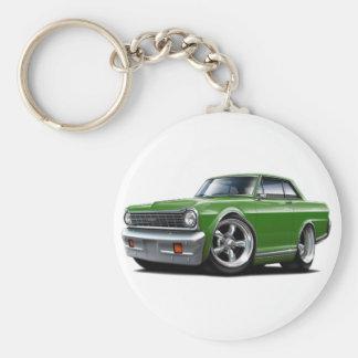 1964-65 Nova Green Car Key Ring