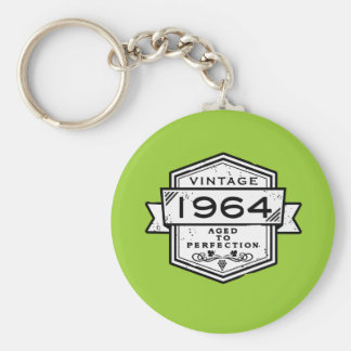 1964 Aged To Perfection Key Chain