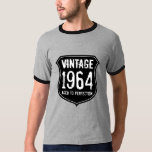 1964 Aged to perfection t shirt | 50th Birthday