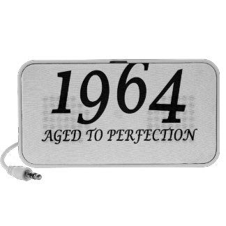 1964 Aged to perfection t shirt for 50th Birthday. iPhone Speakers