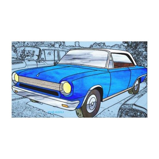 1964 AMC Rambler Canvas Print