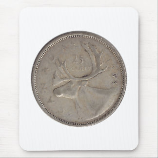 1964 Canadian Quarter Mousepad