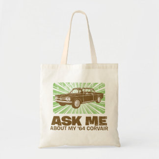 1964 Chevrolet Corvair Budget Tote Bag