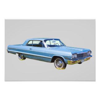 1964 Chevrolet Impala Antique Car Art Photo