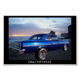 1964 Chevy Chevelle Poster