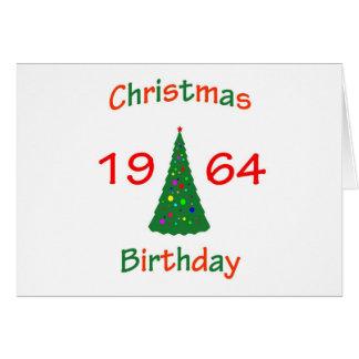 1964 Christmas Birthday Greeting Cards