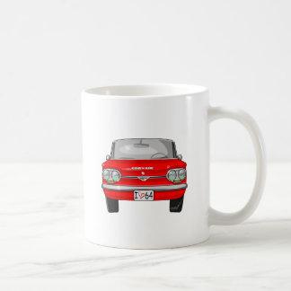 1964 Corvair Front View Basic White Mug