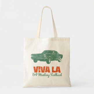 1964 Ford Mustang Fastback Canvas Bag