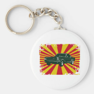 1964 Ford Mustang Fastback Key Chain