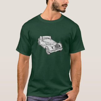 1964 Morgan Plus 4 Sports Car Illustration T-Shirt