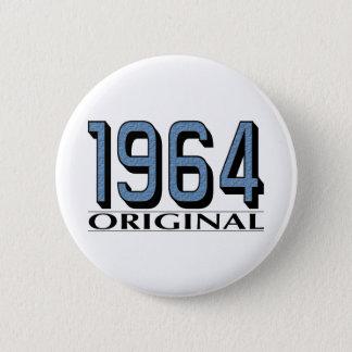 1964 Original 6 Cm Round Badge