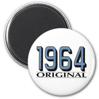 1964 Original 6 Cm Round Magnet