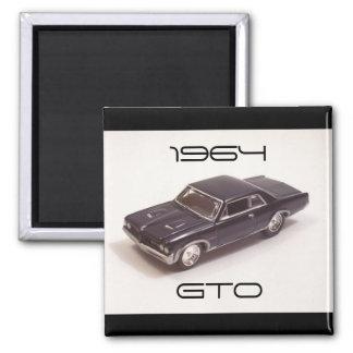 1964 Pontiac GTO Refrigerator Magnets