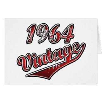1964 Vintage Card